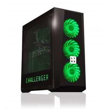 LYNX Challenger G4560 8GB 1TB HDD GTX 1050 2G W10 HOME LED GREEN